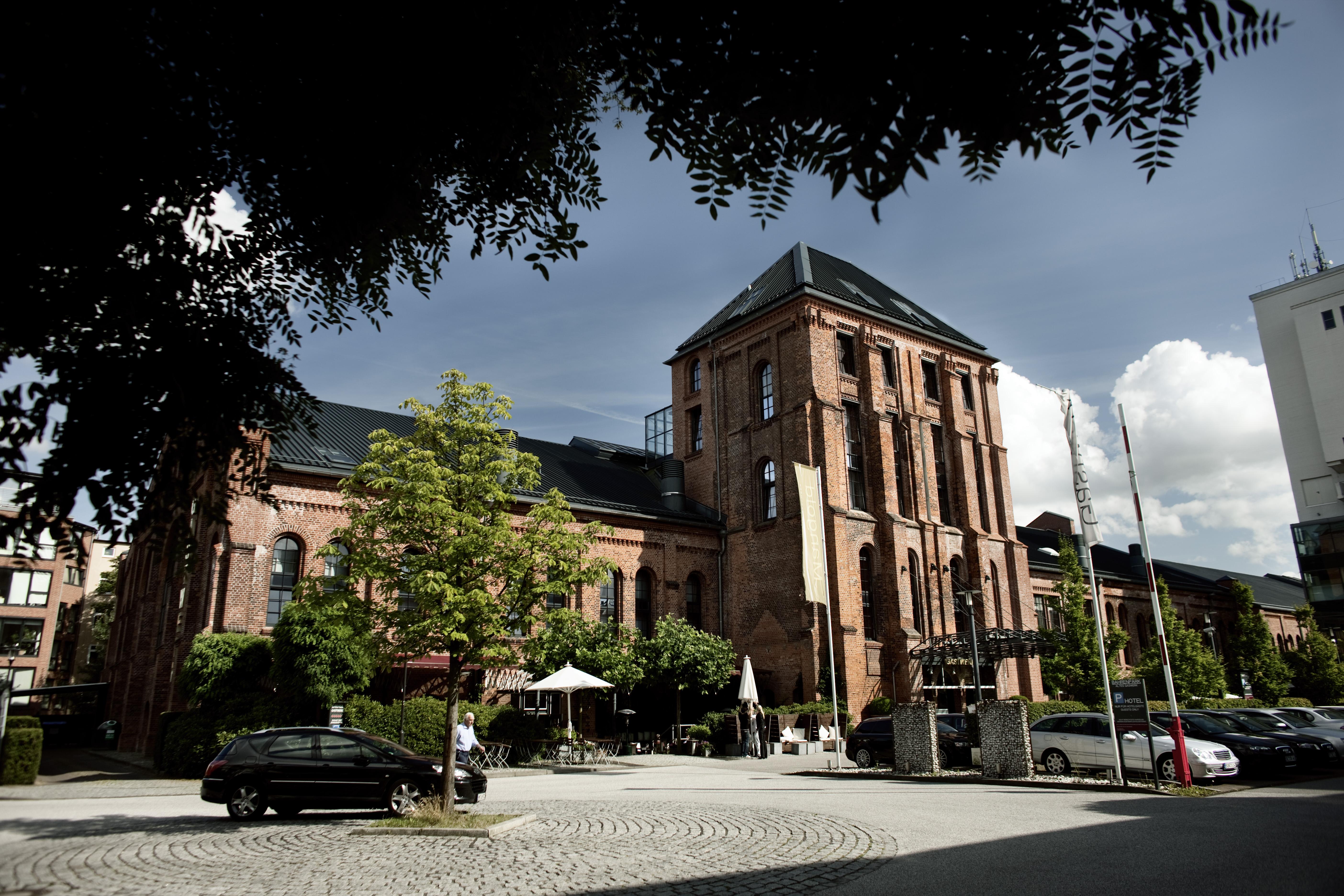Hotel Hamburg Aussenansicht des Gastwerk