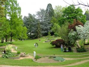 Botanischer Garten in Freiberg im Breisgau