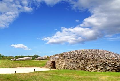 Dolmen Monumente in Locmariaquer