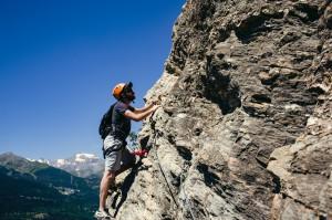 Klettern auf der Via Ferrata